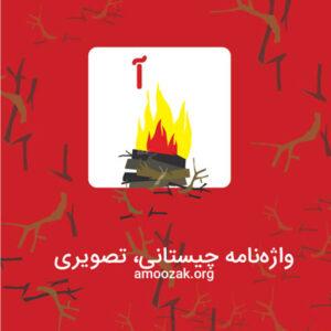 واژه نامه چیستانی، تصویری