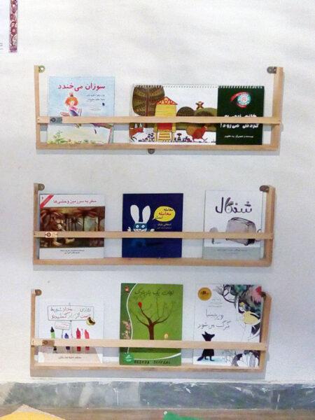 کتابخانه های چوبی با من بخوان