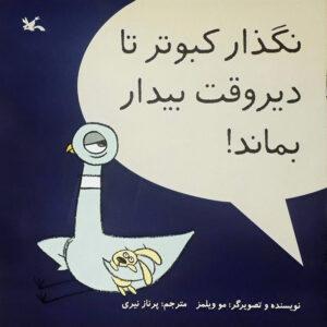 نگذار کبوتر تا دیروقت بیدار بماند!