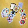 بازی و فعالیت با کارت های حقوق کودک 2