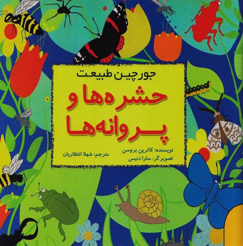 حشره ها و پروانه ها - جورچین طبیعت