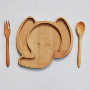 بشقاب چوبی فیل المر