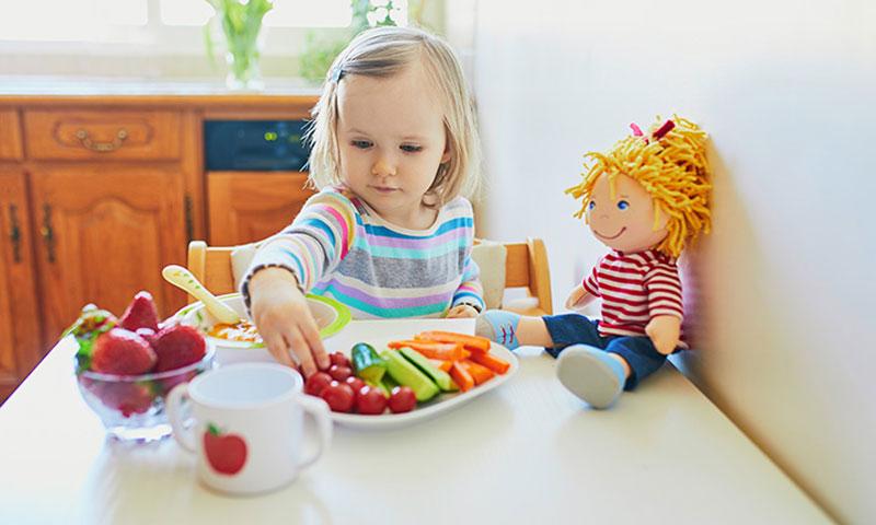 غذای مناسب برای رشد کودک