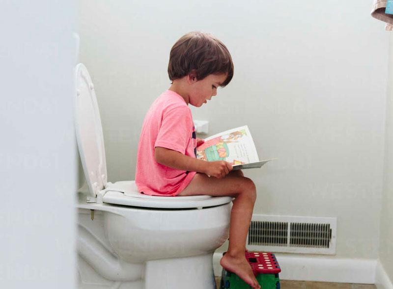 زمان مناسب برای شروع آموزش توالت رفتن