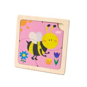 پازل ۴ تیکه زنبور