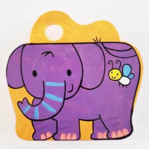 یه بچه فیل بازیگوش! - کتاب فومی