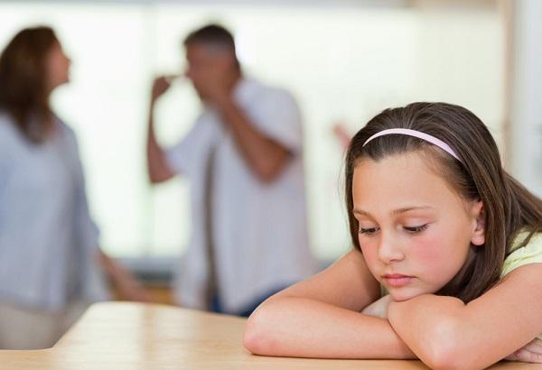 تاثیر طلاق بر دختران